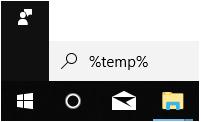 Mail Receipt Hack: Open Temporary Folder