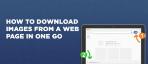 How to download images from a web page in one go