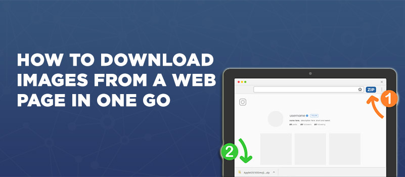 How to download images from a web page in one go? – 2 Simple ways